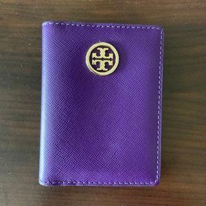 Tory Burch Purple Mini Wallet